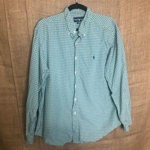 Ralph Lauren XL Classic Fit Button Down Shirt Mens